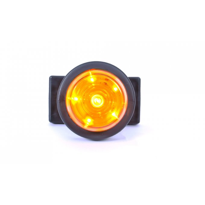 Feu gabari orange a 6 led