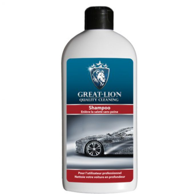SHAMPOING LUSTRANT CARROSSERIE GREAT LION 500ML