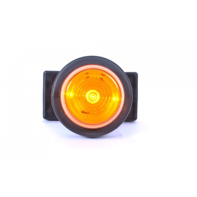 feu gabarit 3 led orange