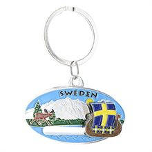 Porte clef oval sweden