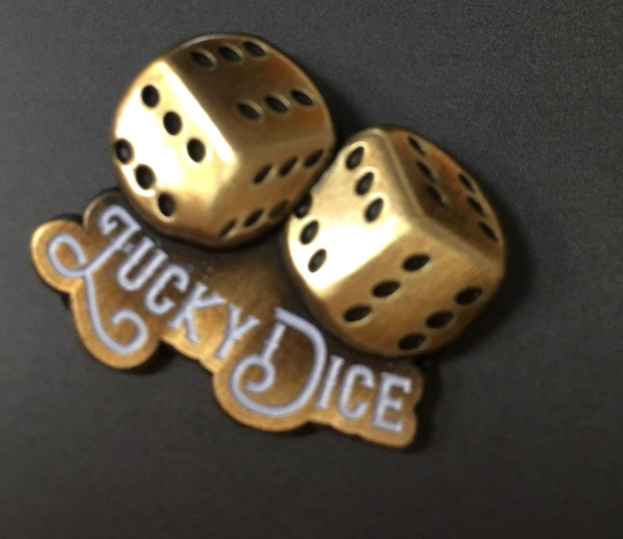Pins lucky dice
