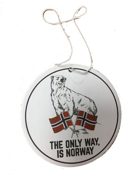 Désodorisant the only way is norway