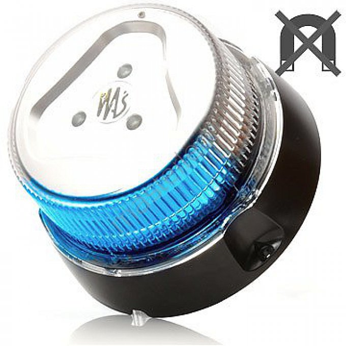 Gyrophare full led 12/24V eclairage bleu