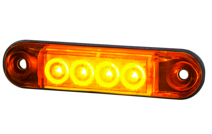 feu horpol 4 led orange