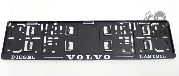 SUPPORT DE PLAQUE VOLVO