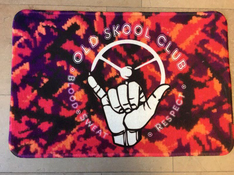 Tapis sol 60X40CM OLD SKOOL CLUB